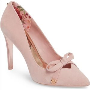 Ted baker gewell in mink pink suede euro 41